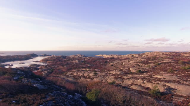 Marstrand at sunset