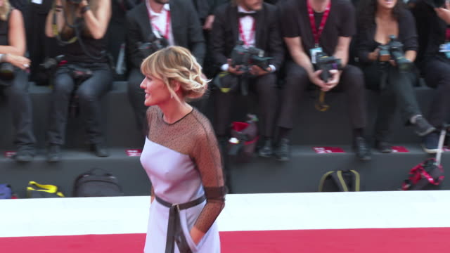 marta nieto at closing ceremony red carpet 76th venice film festival on september 07 2019 in venice italy - 76th venice film festival 2019点の映像素材/bロール