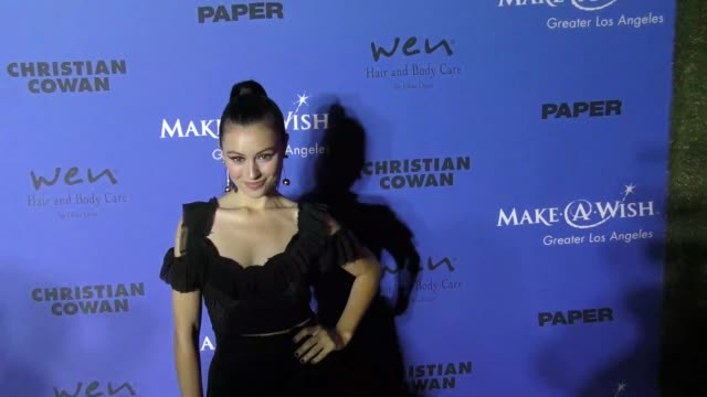 Marta Pozzan at the PAPER Magazine Runway Benefit For MakeAWish Foundation on October 24 2017 in Los Angeles California