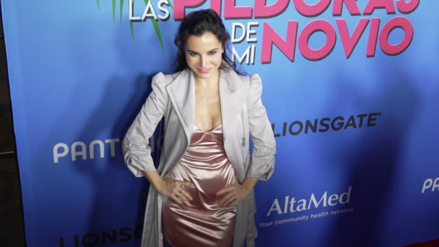 martha higareda at the las pildoras de mi novio premiere at arclight hollywood on february 18 2020 in hollywood california - arclight cinemas hollywood stock videos & royalty-free footage