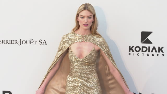 Martha Hunt at the amfAR Cannes Gala 2019 Arrivals at Hotel du CapEdenRoc on May 23 2019 in Cap d'Antibes France