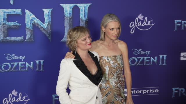 martha plimpton and ever carradine at the frozen ii world premiere at dolby theatre on november 07 2019 in hollywood california - ever carradine stock videos & royalty-free footage