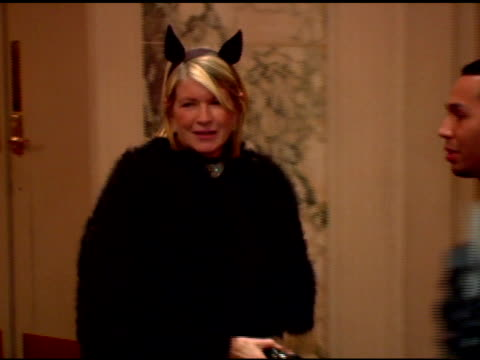 martha stewart and bette midler at the bette midler's new york restoration project's 'hulaween' at the waldorf astoria in new york, new york on... - martha stewart stock videos & royalty-free footage