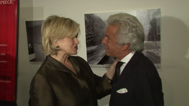 martha stewart and giancarlo giammetti at the valentino: the last emperor premiere at new york ny. - martha stewart stock videos & royalty-free footage