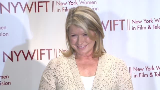 martha stewart at new york women in film & television 31st annual muse awards on in new york, ny. - martha stewart stock videos & royalty-free footage
