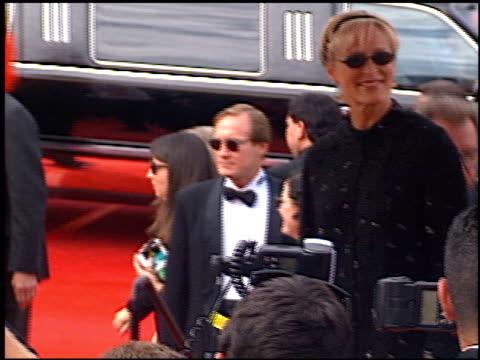 martha stewart at the 1997 emmy awards arrivals at the pasadena civic auditorium in pasadena california on september 14 1997 - martha stewart stock videos & royalty-free footage