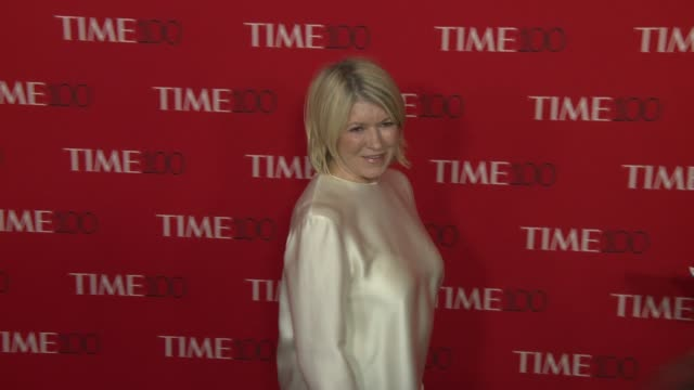martha stewart at the 2018 time 100 gala at frederick p. rose hall, jazz at lincoln center on april 24, 2018 in new york city. - martha stewart stock videos & royalty-free footage