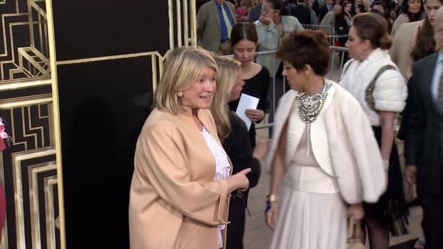 martha stewart at the great gatsby world premiere at avery fisher hall at lincoln center for the performing arts on may 01 2013 in new york new york - martha stewart stock videos & royalty-free footage