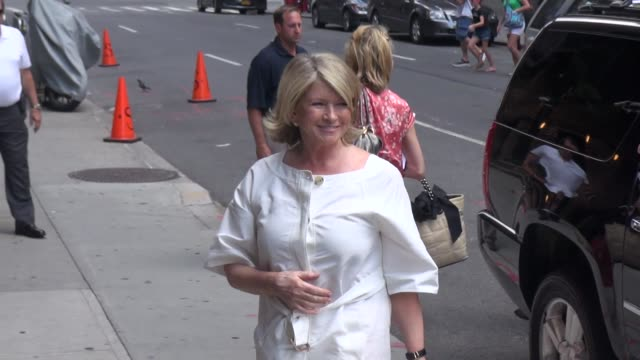 martha stewart at the 'late show with david letterman' studio martha stewart at the 'late show with david on july 08, 2013 in new york, new york - martha stewart stock videos & royalty-free footage