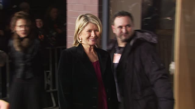 martha stewart at the opening of first hermes men's store on madison avenue in new york at new york ny - martha stewart stock videos & royalty-free footage