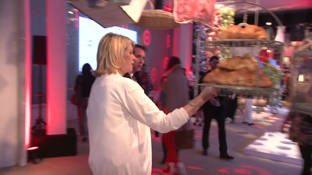 martha stewart at the shops at target private launch event on in new york - martha stewart stock videos & royalty-free footage