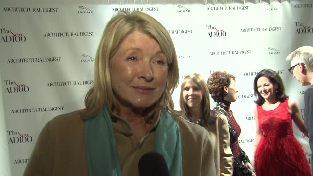 martha stewart on why she wanted to come to tonight's event, on the ad100 and what the list means in her world, on why ad is such an influential... - martha stewart stock videos & royalty-free footage