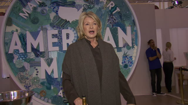 martha stewart transforms grand central terminal into multimedia celebration of american artists artisans and entrepreneurs for inaugural american... - martha stewart stock videos & royalty-free footage