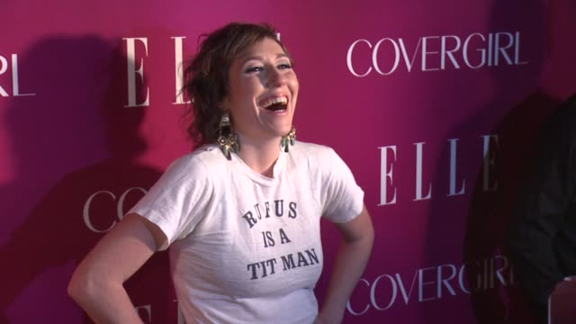 martha wainwright at 4th annual elle women in music celebration arrivals at the edison ballroom on april 10 2013 in new york new york - edison ballroom stock videos & royalty-free footage