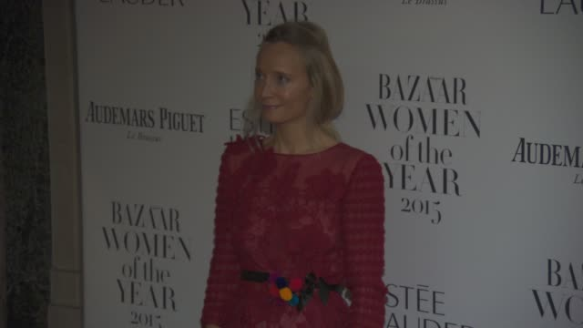 Martha Ward at Harper's Bazaar Women of the Year Awards at Claridge's Hotel on November 03 2015 in London England