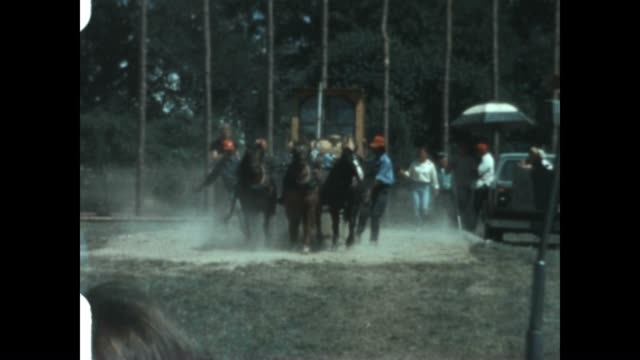 Martha's Vineyard Agricultural Society Fair featuring Draft Horse pulling from an archival home movie