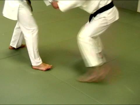 武術から柔道 - 柔道点の映像素材/bロール