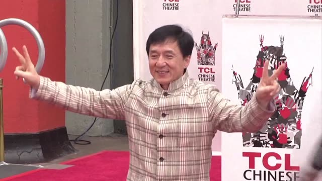 vídeos de stock e filmes b-roll de martial arts movie star jackie chan is among celebrities who feature in a massive leak of documents some of which reveal hidden offshore assets - jackie chan