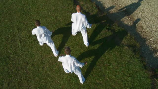 HD CRANE: Martial Arts Outdoors