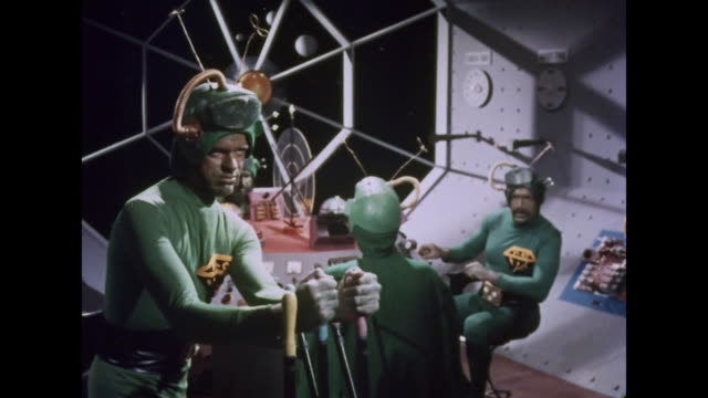 1964 martians prepare for landing - 1964 stock videos and b-roll footage