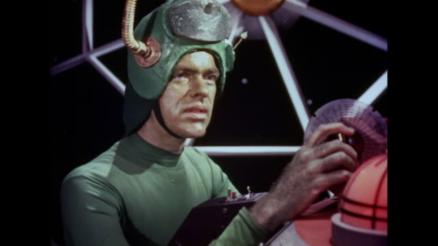1964 martians think they've made a clean getaway from earth - 1964 stock videos & royalty-free footage