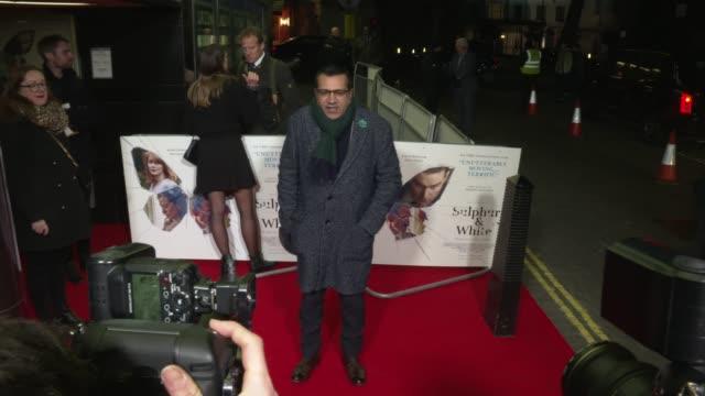 martin bashir at sulphur & white world premiere on february 27, 2020 in london, england. - martin bashir stock videos & royalty-free footage