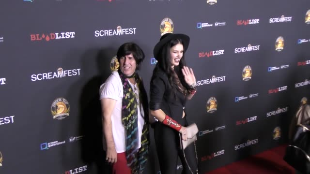 Martin Blasick Natasha Blasick at the Screamfest Opening Night Premiere Of 'Dead Ant' at TCL Chinese Theatre on October 10 2017 in Hollywood...