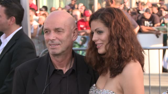 martin campbell sol e romero at the 'green lantern' los angeles premiere at hollywood ca - martin campbell stock videos and b-roll footage