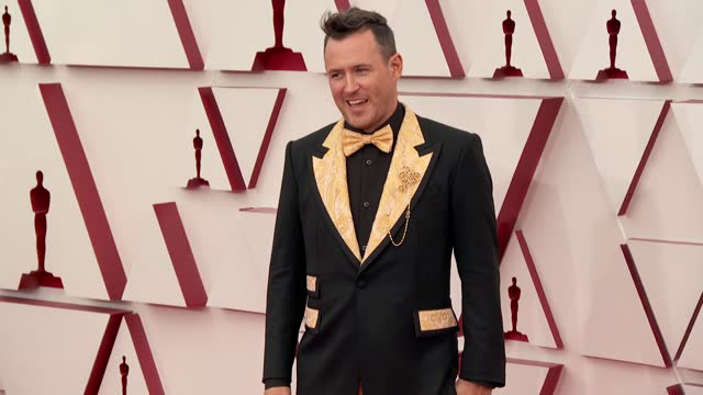 martin desmond roe at the93rd annual academy awards - arrivals onapril25, 2021. - academy awards stock videos & royalty-free footage