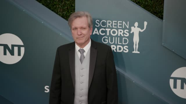 martin donovan at the 26th annual screen actors guild awards arrivals at the shrine auditorium on january 19 2020 in los angeles california - shrine auditorium stock videos & royalty-free footage