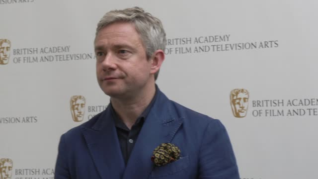 vídeos y material grabado en eventos de stock de martin freeman at bafta on june 22 2019 in london england - martin freeman