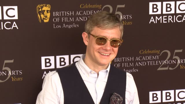 martin freeman at bafta la tv tea 2012 presented by bbc america on 9/22/2012 in west hollywood ca - martin freeman stock videos and b-roll footage