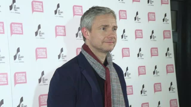 martin freeman at picturehouse central on november 14 2019 in london england - martin freeman stock videos and b-roll footage
