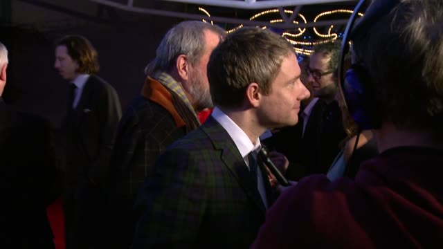 vídeos y material grabado en eventos de stock de martin freeman at the moet british independent film awards at london england - martin freeman