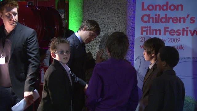 martin freeman at the nativity london premiere at london england - martin freeman stock videos and b-roll footage