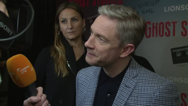 martin freeman at vue west end on march 27 2018 in london england - martin freeman stock videos and b-roll footage