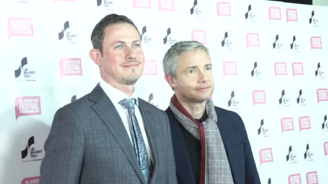 martin freeman michael etherton at picturehouse central on november 14 2019 in london england - martin freeman stock videos and b-roll footage