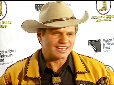martin kove at the the motion picture and television fund's 24th golden boot awards at the beverly hilton in beverly hills california on august 12... - motion picture & television fund stock videos & royalty-free footage