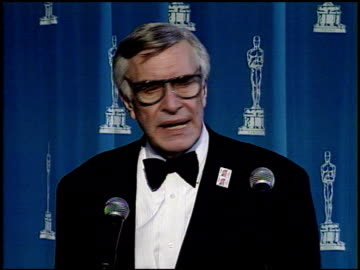 martin landau at the 1995 academy awards at the shrine auditorium in los angeles, california on march 27, 1995. - 67th annual academy awards stock videos & royalty-free footage