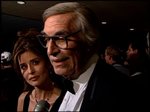 Martin Landau at the American Cinema Awards at the Bonaventure Hotel in Los Angeles California on November 2 1996