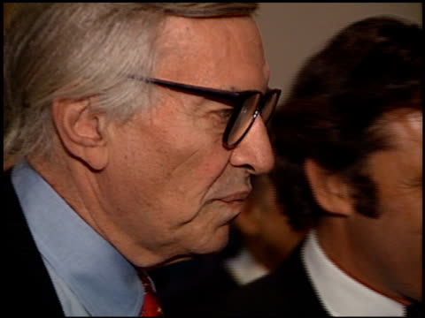 martin landau at the judy garland biography party at the museum of television and radio in beverly hills, california on march 12, 1997. - judy garland stock videos & royalty-free footage