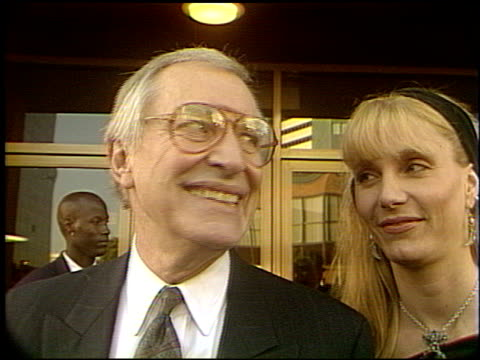 Martin Landau at the 'Slive'r Premiere at the Bruin Theatre in Westwood California on May 19 1993