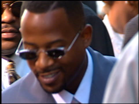 Martin Lawrence at the 'Nothing to Los'e Premiere at Avco Cinema in Westwood California on July 8 1997