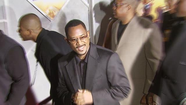 martin lawrence at the 'wild hogs' premiere at the el capitan theatre in hollywood, california on february 27, 2007. - el capitan theatre stock videos & royalty-free footage