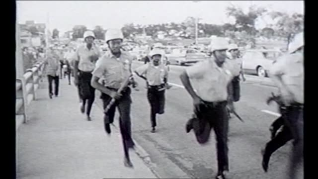 martin luther king jr and other civil rights leaders led several marches and demonstrations in chicago during the summer of 1966 known as the chicago... - human rights stock videos and b-roll footage