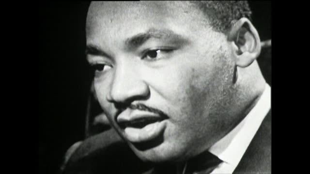 martin luther king on his concerns for his wife, coretta scott king, and family's safety in alabama and her persistence in supporting him; 1961.... - black civil rights stock videos & royalty-free footage