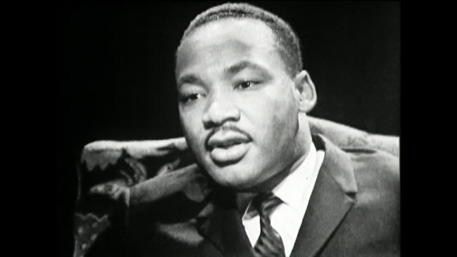 martin luther king on his strict childhood and upbringing in a religious baptist household 1961i faced the discipline that you would face in a very... - baptist stock videos & royalty-free footage