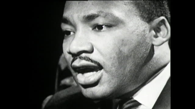 martin luther king on the assassination attempt by izola curry who stabbed him while signing books at an event in harlem, new york; 1961. - schizophrenia stock videos & royalty-free footage