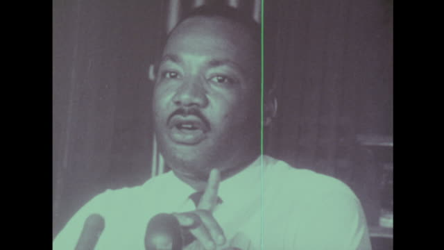 martin luther king talks about peoples god given rights - martin luther king jr stock videos & royalty-free footage