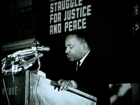 WGN Martin Luther King Tells the Crowd Now Is the Time For Change In Chicago in the summer of 1965